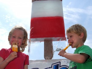 UK's biggest ice lolly - a Fab!